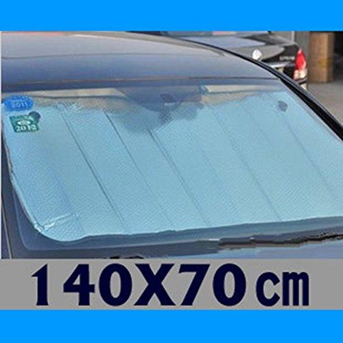 Inovey Auto Zonneblok Zuiver Zilver Zonneblok Dubbelzijdig Aluminium folie Bubble Voor Isolatie Producten 140 * 70