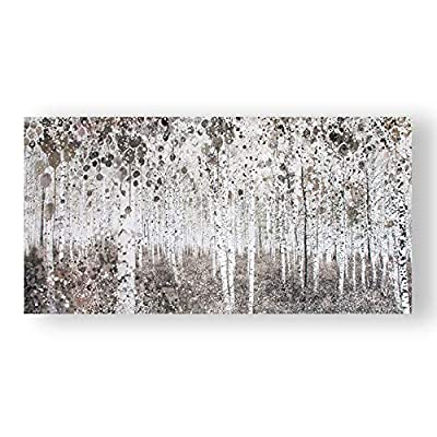 Graham & Brown Neutral Watercolor Wood Wall Art from Graham & Brown