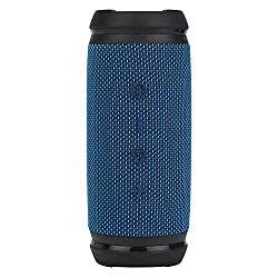 boAt Stone SpinX 2.0 R Portable Wireless Speaker with 360° Stereo Sound, Up to 8H Playtime, IPX6 Water & Splash Resistance, Rugged Mountable Design and TWS Feature (Cobalt Blue),boAt,Stone SpinX 2.0R