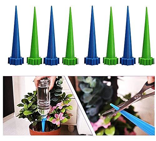 Arroseur en pot - woopower automatique - système d'irrigation pour les plantes - cône de jardin - arrosoir pour plantes - plante - arrosoir - arrosoir - fleur - pack de 8 unités - irrigation