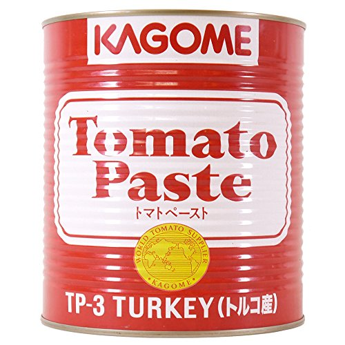 カゴメ カゴメ トマトペースト トルコ産 1号缶×6個