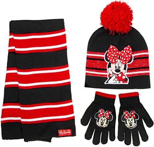 Childrens hat scarf and gloves set _image4