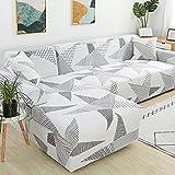 MKQB Funda de sofá elástica con Estampado Floral, combinación...