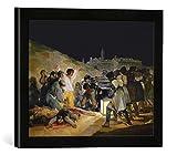Gerahmtes Bild von Francisco Goya Der 3. Mai 1808