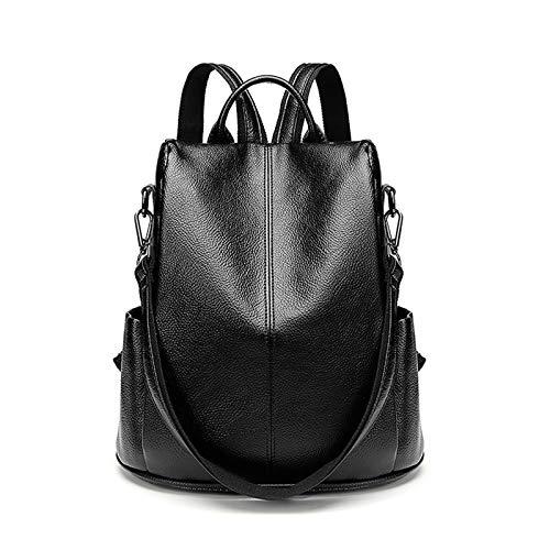 BAFEYU Women Backpack Travel Backpacks Ladies Anti-theft Lightweight PU Leather Fashion Rucksack