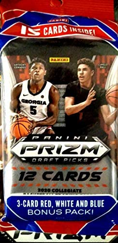 2020 21 Panini Prizm Draft Picks Basketball CELLO pack 15 cards pack product image