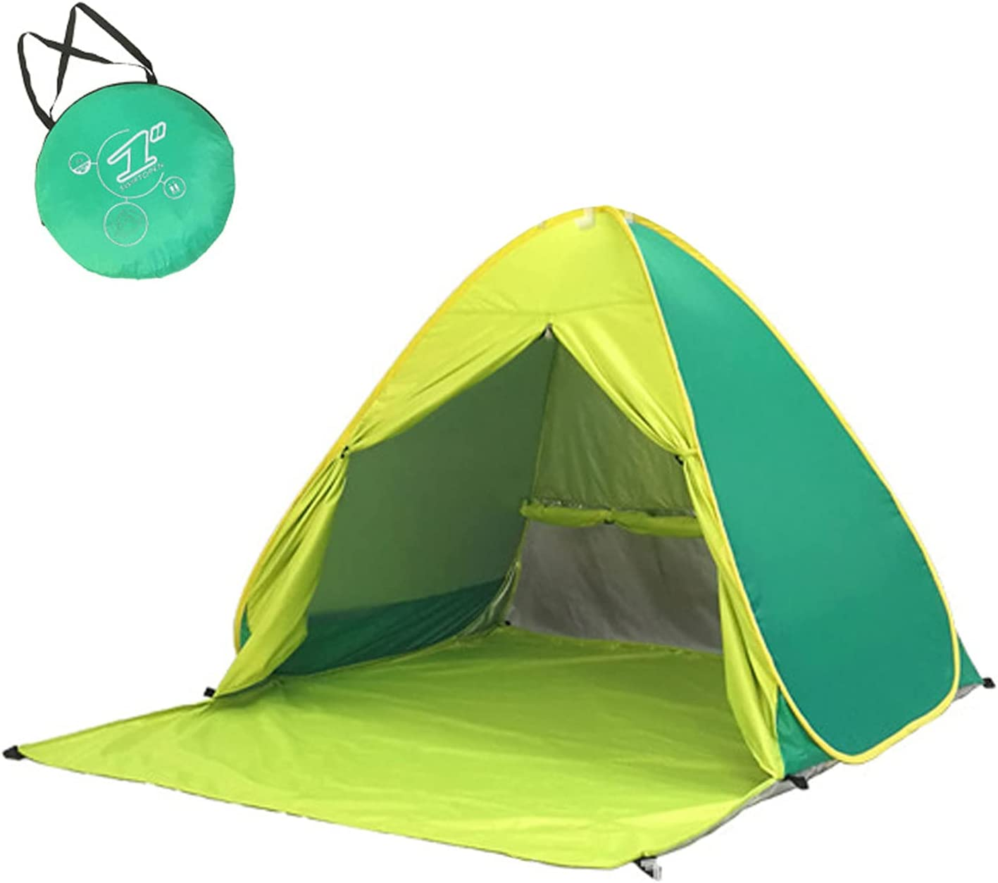 Neiiko Beach Tent Anti-UV Portable Dedication Recommended Sun Shade Perso 3 Shelter for