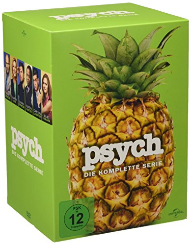 Psych – Die komplette Serie [Limited Edition] [31 DVDs]