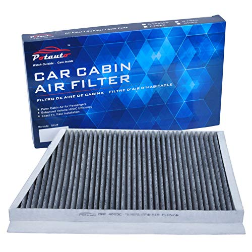 POTAUTO MAP 4003C Heavy Activated Carbon Car Cabin Air Filter Replacement compatible with MERCEDES BENZ C230, C240, C280, C32 AMG, C320, C350, C55 AMG, CLK320, CLK500, CLK55 AMG, CLK550, CLK63 AMG