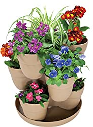 Stackable Flower Tower Planter