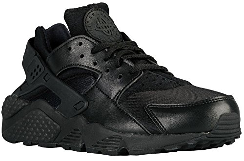 Nike Women's Air Huarache Run Black/Black Running Shoe (6.5)