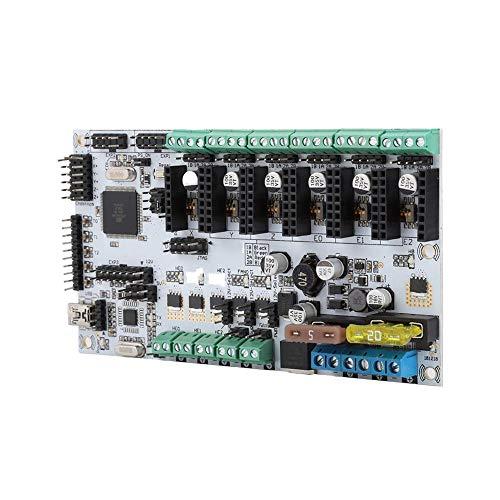 Diyeeni Mainboard voor Rumba, hoofdregelplaat met LCD en uitbreiding van de stuurmachine voor 3D-printers, graveermachine, compatibel met alle rails gerelateerde firmware