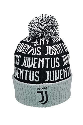 Icon Sports Beanie-Mütze, kompatibel mit Juventus FC, Winter-Fußball, offizielles...
