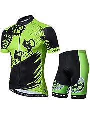 Weimostar Sportkleding fietsshirts korte mouwen fietskleding fiets top mannen MTB Jersey ademend zomer zwart