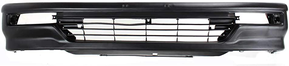 Front Bumper Cover Compatible with HONDA CIVIC 1990-1991 Textured Hatchback USA Built
