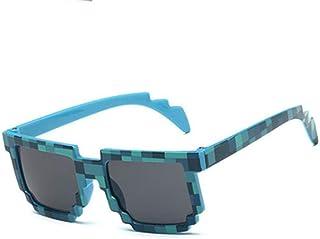 713cf73229 Gafas de sol deportivas, gafas de sol vintage, NEW Kids Pixel Sunglasses  Plaid Square
