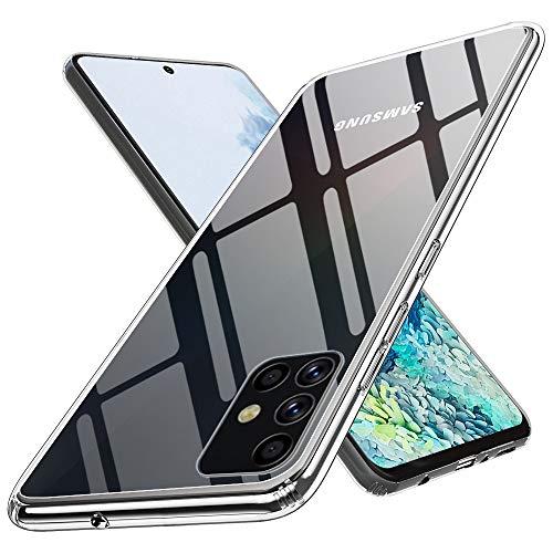 ANEWSIR für Samsung Galaxy S20 Plus Glass Hülle,9H Glas Handyhülle,Panzerglas SchutzHülle,Transparent Hülle für Samsung Galaxy S20 Plus/ S20+ 6.7 Zoll.