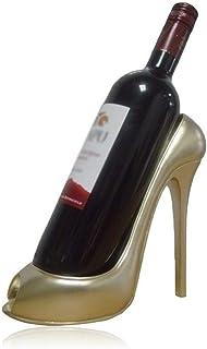 LIAOLEI10 Botellero Innovador Estante de Vino de tacón Alto Resina Botella de Vino Soporte de exhibición Hogar Sala de Est...