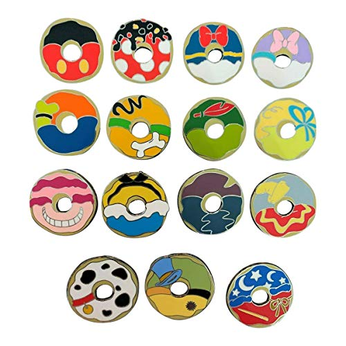 Disney Mickey Mouse and Friends Donut Mystery Mini-Pin Pack