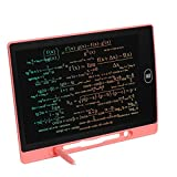 VHOB Colorful LCD Writing Tablet, Doodle & Scribbler Dry Erase Drawing Board, Play Pad for Kids Children - 8.5 in Pink