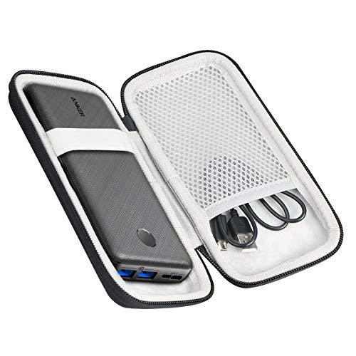 khanka Hart Tasche für Anker PowerCore Essential 20000mAh /20000 PD Powerbank externer Akku Hülle Schutzhülle.(nur Tasche)