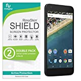 (2-Pack) RinoGear Screen Protector for LG Nexus 5X (2015) Case Friendly LG Nexus 5X Screen Protector Accessory Full Coverage Clear Film