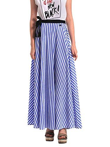 Fornarina Damen Odette Skirt Partykleid, Blau (Blue 11), X-Small