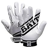 Battle Youth Hybrid Gloves, White, Small