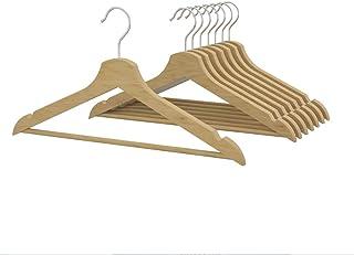 IKEA(イケア) BUMERANG ナチュラル 30167102 洋服ハンガー8本セット