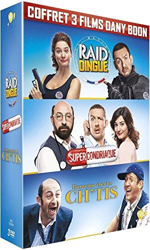 Dany Boon : Bienvenue chez les Ch'tis + Supercondriaque + Raid dingue [DVD]