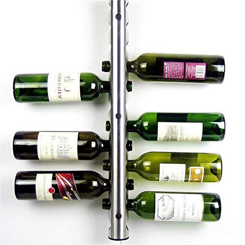 Pequeño estante de vino libre de pie equilibrado alto vino estantes colgante botella de vino titular bar mágico soporte suspensión creativo 1pc
