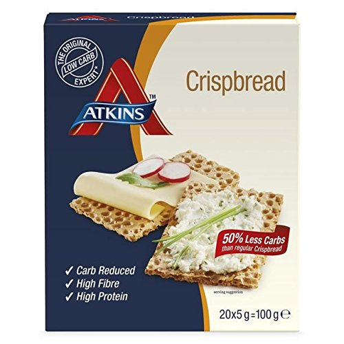 Atkins Crispbread - 100g (0.22lbs)