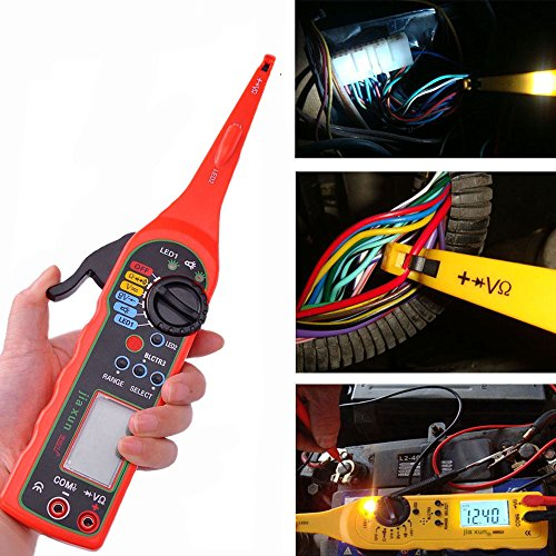 Purchase Multi-function Auto Circuit Tester Multimeter Lamp Car Repair Automotive Electrical Circuit...