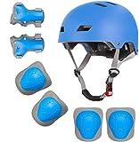 Casco de bicicleta para niños de 2 a 8 años para niños y niñas, para monopatín, patinaje, patinaje sobre ruedas, etc.