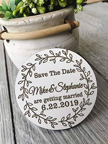 Save The Date, wooden Save The Dates for Wedding, Save the Date Magnets, wood Save the Date Wedding Magnet, wood Wedding Magnets