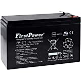 Powery FirstPower Batería de Gel para SAI APC RBC 17 7Ah 12V