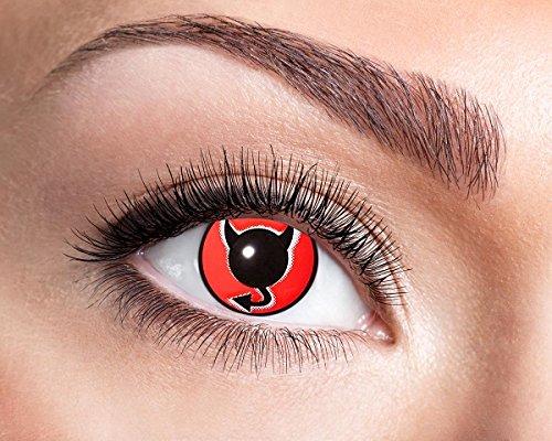 Zölibat Devil Eye Teufel Satan Kontaktlinse