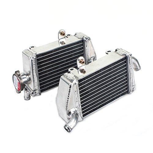 TARAZON Moto Radiador Enfriamiento de Aluminio para SX65 SX 65 2009 2010 2011 2012 2013 2014 2015/ SXS 65 2012 2013, refrigeración del motor