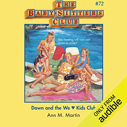 Dawn and the We Love Kids Club cover art