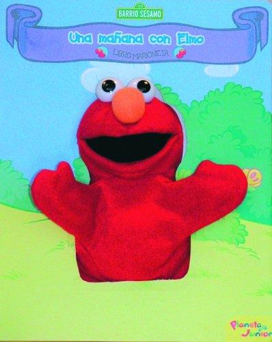 Libro marioneta Elmo: Una mañana Elmo Libro Marioneta