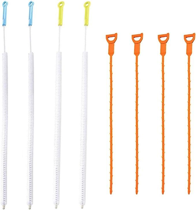 15 opinioni per SENHAI- Set di 8 strumenti per la pulizia di tubi, per rimuovere gli zoccoli di