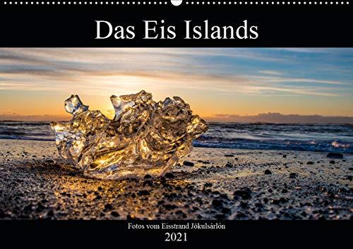 Das Eis Islands (Wandkalender 2021 DIN A2 quer)