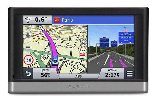 "Garmin Nüvi 2447LM WE - GPS para coches de 4.3"", mapas de Europa Occidental, negro y plata"
