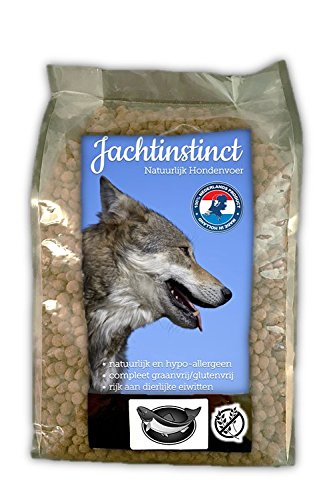Caccia Instinct Dry Food per Cani | Salmone Grano Free | Pressato a freddo 10kg