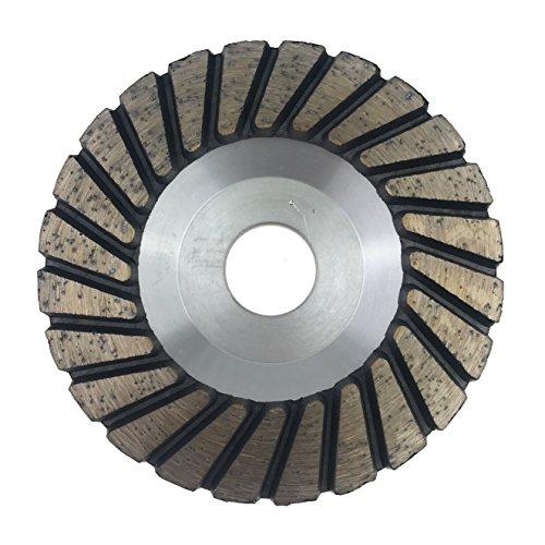 PRODIAMANT Premium Diamant-Schleiftopf Granit 100mm x 22,2mm Diamantschleiftopf PDX829.088 100mm passend Winkelschleifer