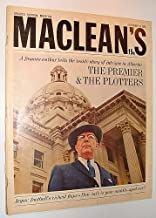 Maclean's Magazine, November 16, 1964 *Major Arthur Hailey Article on Alberta Premier Ernest Manning with Cover Photo*