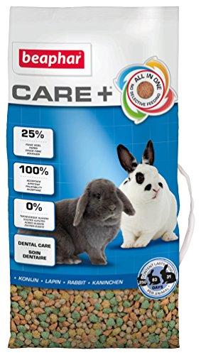 Beaphar Care+ Konijnenvoer | All-in-One Premium voer | Met granen, mineralen en groenten | Met 25% ruwe vezels | Inhoud: 5 kg