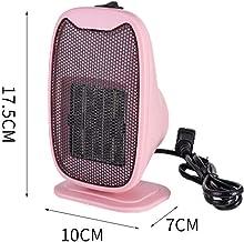 EXUVIATE Mini Heater Portátil Calentador - Estufa Eléctrica Portátil De Bajo Consumo Termoventilador Calentador Baño,Rosado