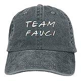 Doctor Fauci Team Fauci Gorra de béisbol unisex ajustable y cómoda gorra Vitage Hat-DoctorFauciTeamFauci-DeepHeather