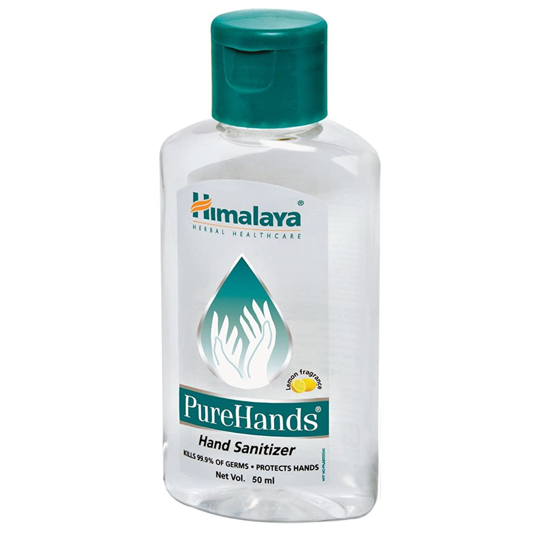 骨折用心する物理的にHimalaya Pure Hands Hand Sanitizer(Lemon Fragrance)50ml